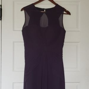 Dresses & Skirts - Bill levkoff plum bridesmaid dress